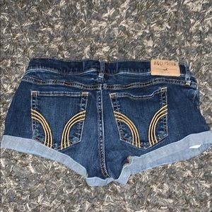 Denim Hollister shorts